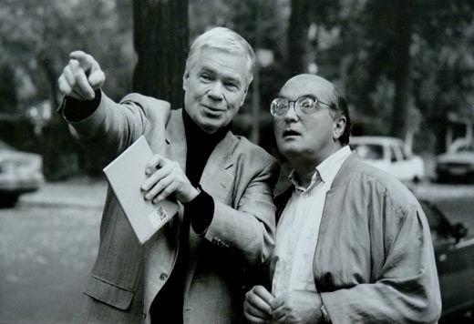 Dietrich Fischer Dieskau et Bruno Monsaingeon