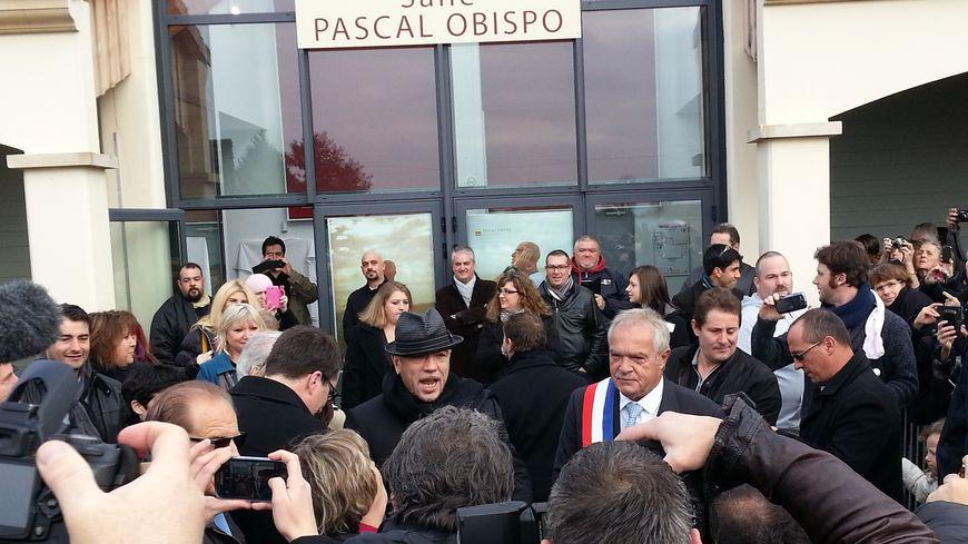 Pascal Obispo a inauguré la salle qui porte son nom en Gironde