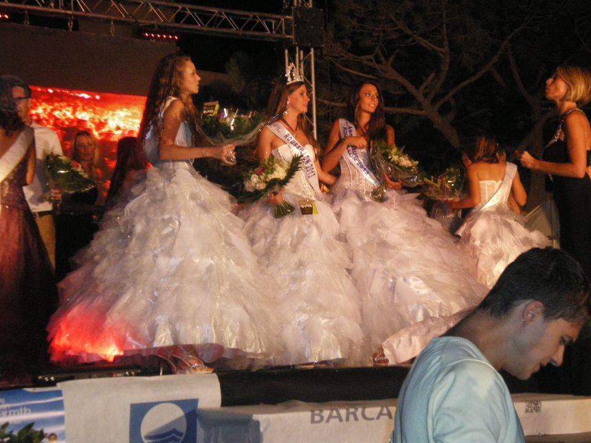 Norma Julia, le soir de son élection à Miss Roussillon