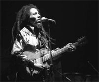 Bob Marley en concert, 1980, Zurich