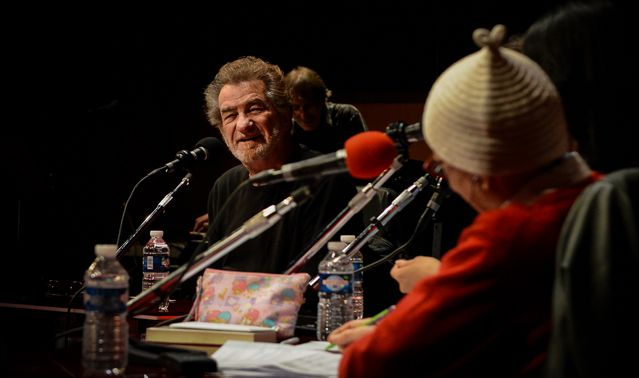 Eddy Mitchell pendant l'émission