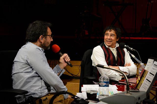 Frédéric Lopez et Laurent Voulzy
