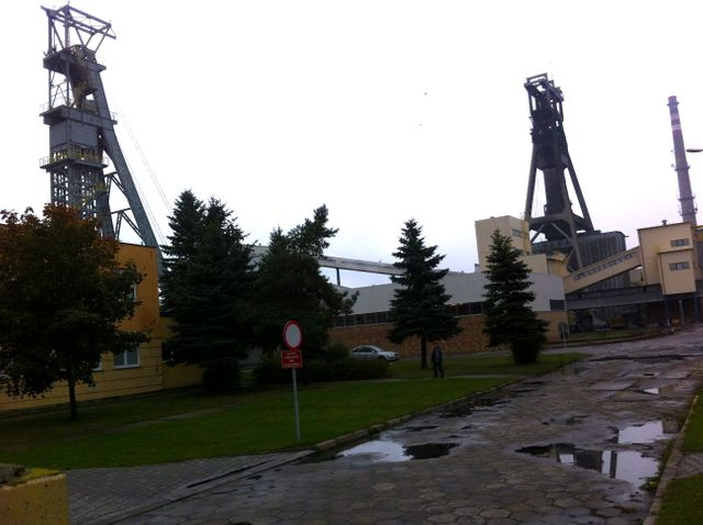 Mines de charbon en Pologne