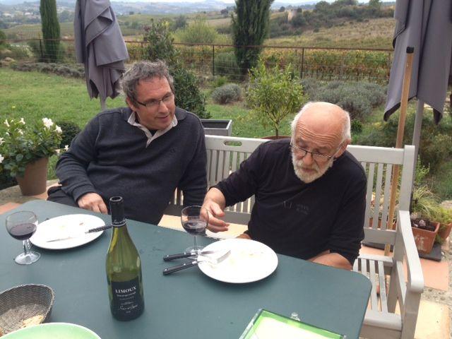 Claude Marti et Emmanuel Laurentin