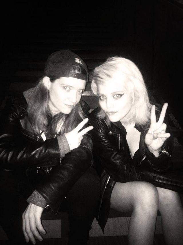 Sky Ferreira & Laura Leishman