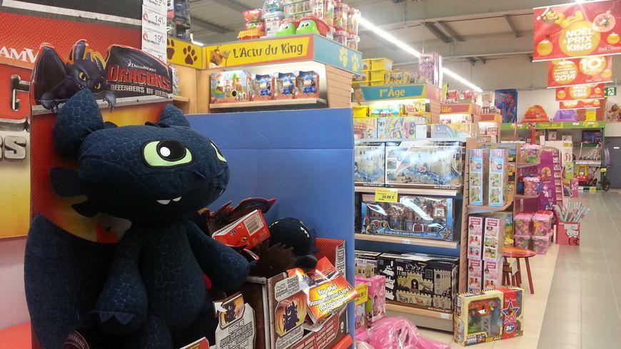 Les magasins de jouets ont fait des stocks