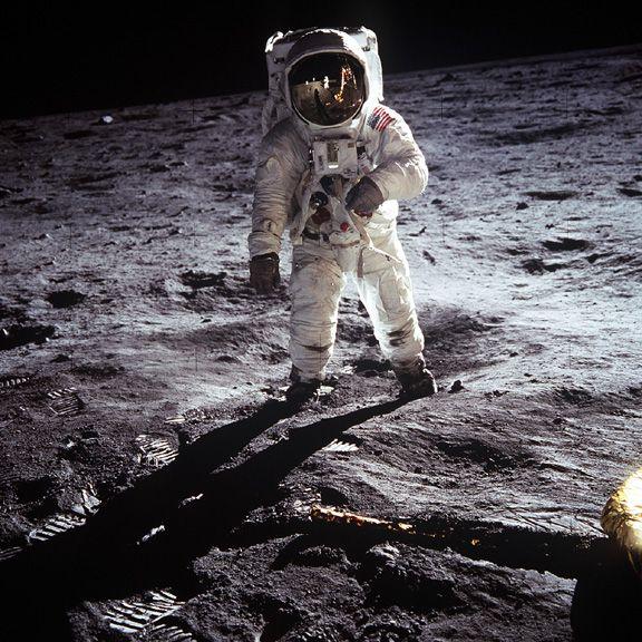Buzz Aldrin sur la Lune