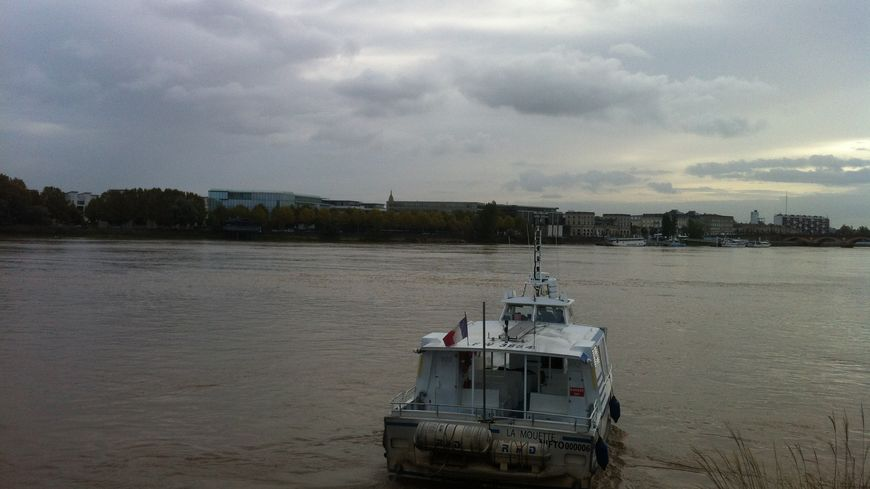 La mouette: le bateau de secours du service BatCub
