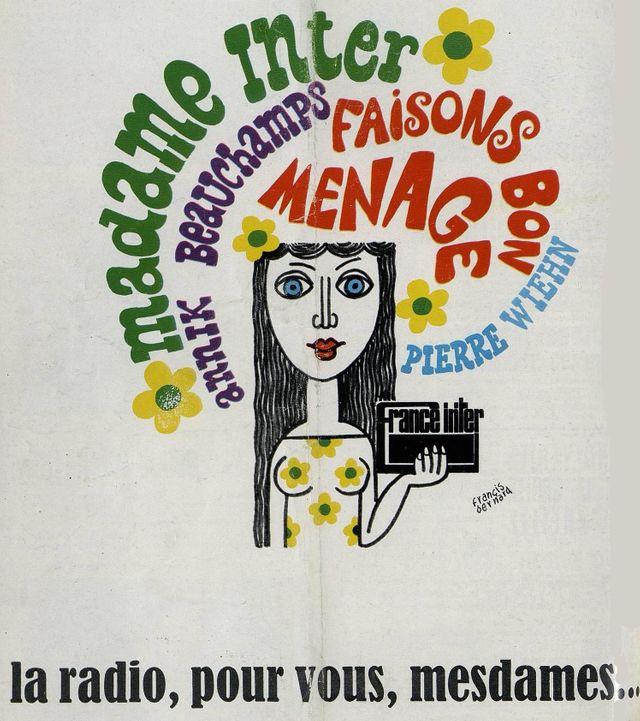 affiche Madame Inter 1968