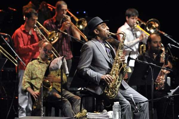 Achie Shepp Attica Blues Orchestra ®Francis Vernhet