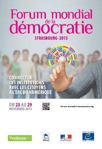 Forum mondial démocratie strasbourg