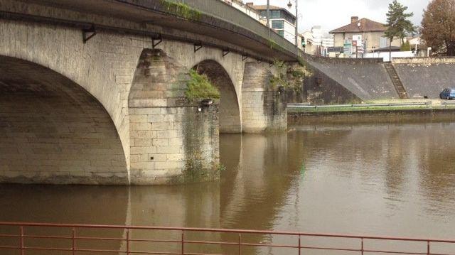 La rivière l'Isle en Dordogne