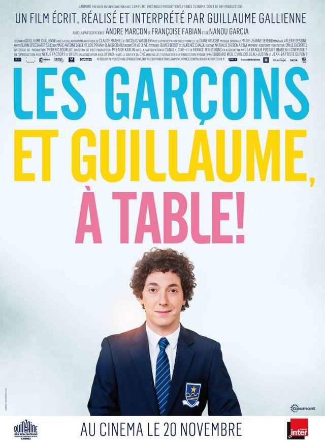 Les gaçons et Guillaume, à table!