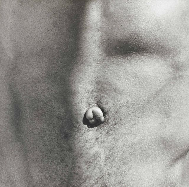 Belly Button, Robert Mapplethorpe. 1986.