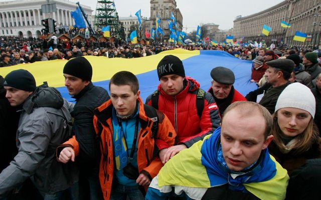 Manifestations à Kiev