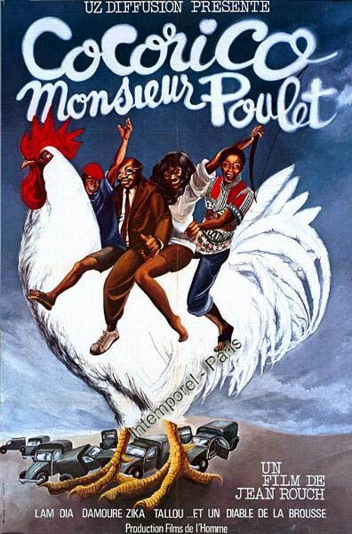 Cocorico monsieur poulet affiche