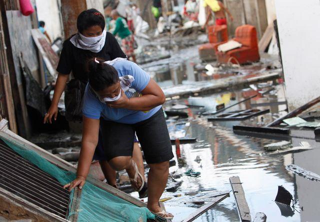 A Tacloban des habitants qui ont tout perdu