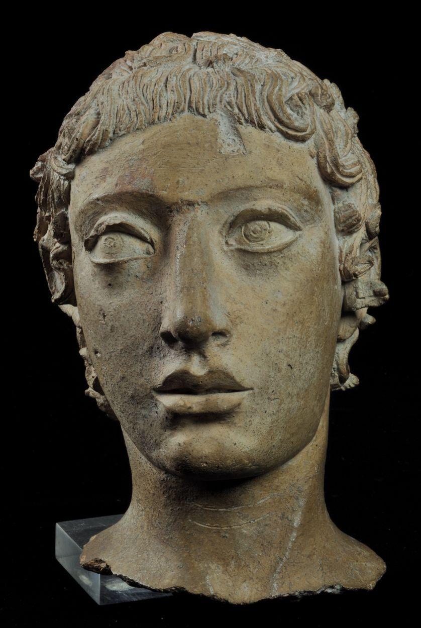 Tête votive de jeune homme - Musée national des Etrusques de la Villa Giulia