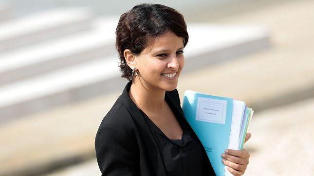 Najat Vallaud Belkacem, ministre des Droits des femmes, est à l'origine de cette initiative. Christophe Morin