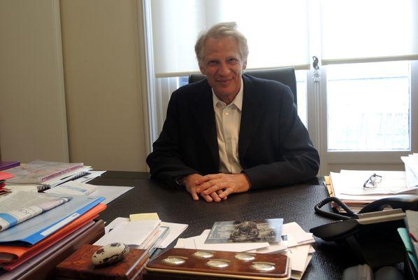 Dominique de Villepin, président du Comité consultatif d'UCRG