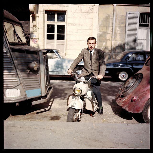 Autoportrait au Rolleiflex - Paris - 1959