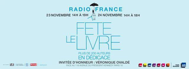 Radio France fête le livre