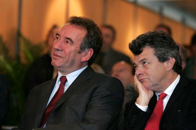 Bayrou et Borloo en 2005