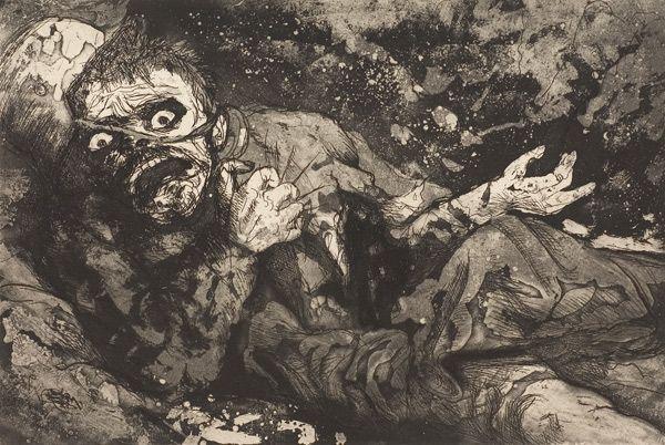 Soldat blessé (automne 1916, Bapaume)