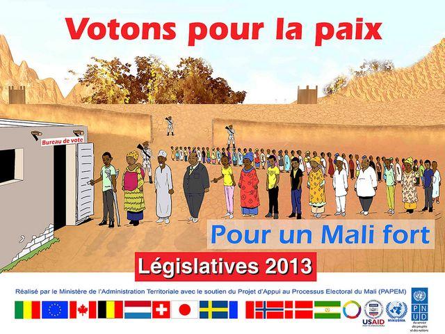 Mali élections législatives