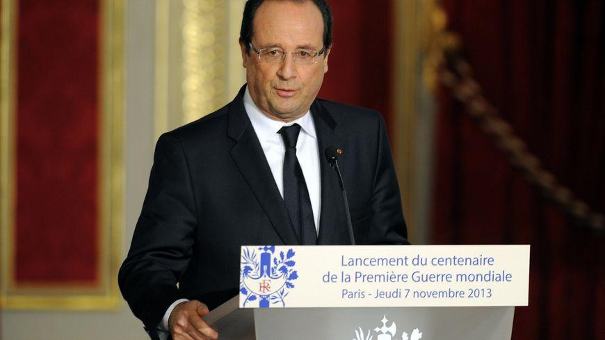 François Hollande a lancé les commémorations du centenaire de la guerre de 14-18, jeudi soir, à l'Elysée
