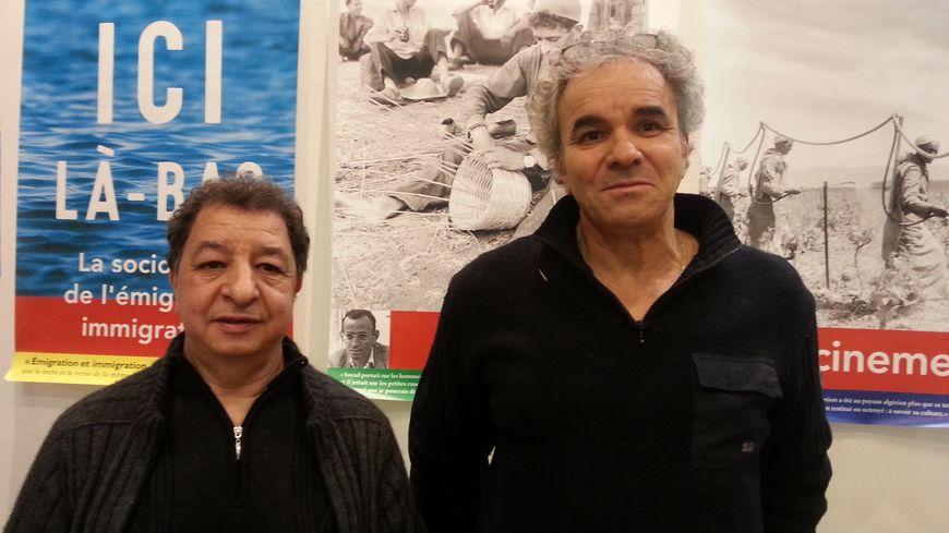 """Saïd Idir et Brahim Zennaf, deux anciens """"marcheurs"""" de 1983"""