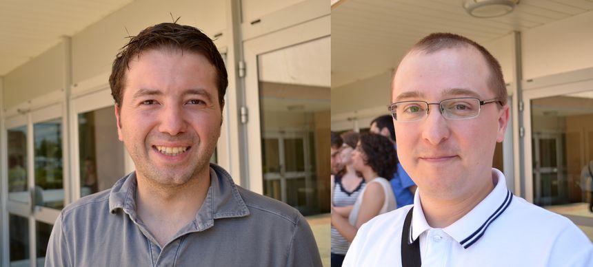 Sylvain Jumeau et Cyril Moesch, internes en médecine générale à Limoges.