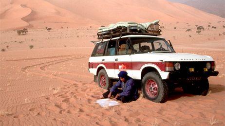 Un compétiteur dans le désert -