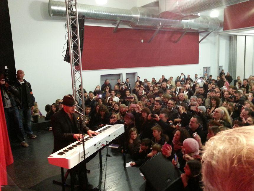 """Plus de 300 personnes ont pu écouter """"Lucie"""" et """"D'un Ave Maria"""""""