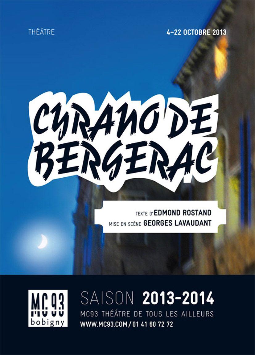 "Affiche du spectacle ""Cyrano de Bergerac"""