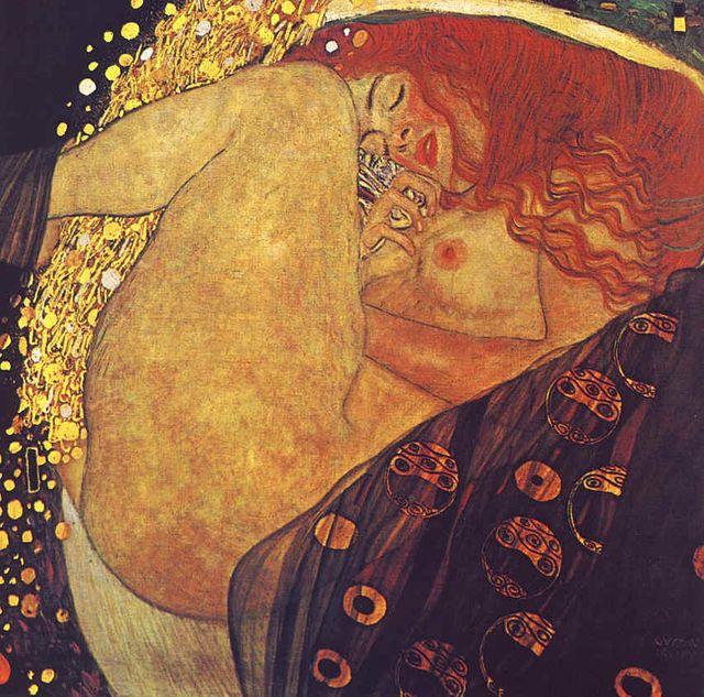 "Gustav Klimt "" Danaé"" 1907-1908"