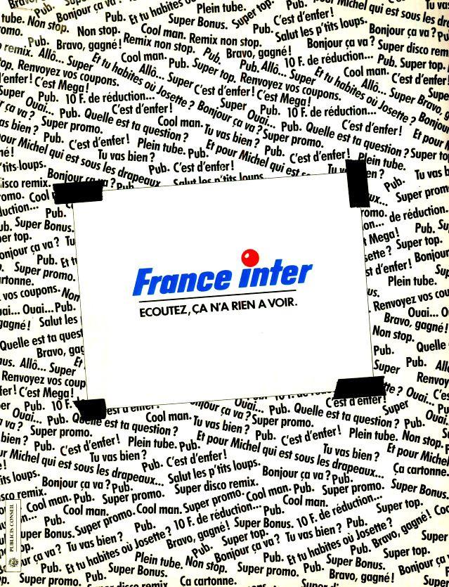 affiche 1991 - France Inter a 50 ans