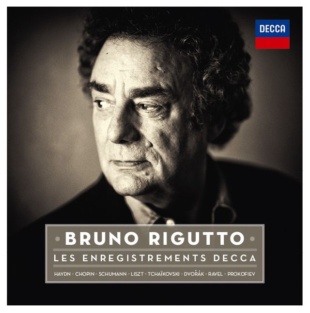Bruno Rigutto, les enregistrements Decca