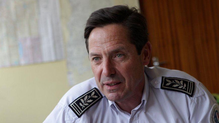 Pierre Olivier Mahaux, directeur départemental de la sécurité publique dans la Drôme