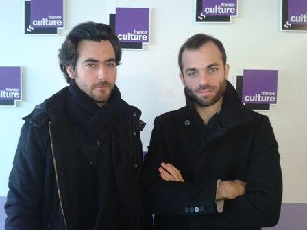 Jean Bellorini et Benjamin Lazar