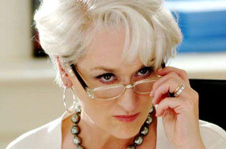 Meryl Streep dans Le Diable s'habille en Prada