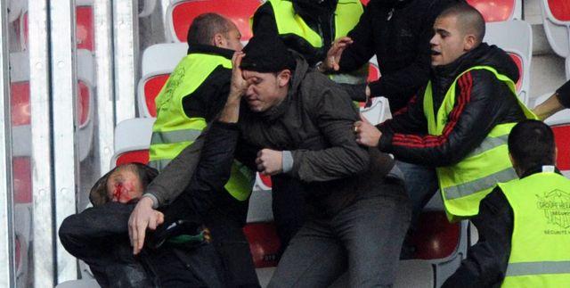 Affrontements entre supporters stéphanois et niçois