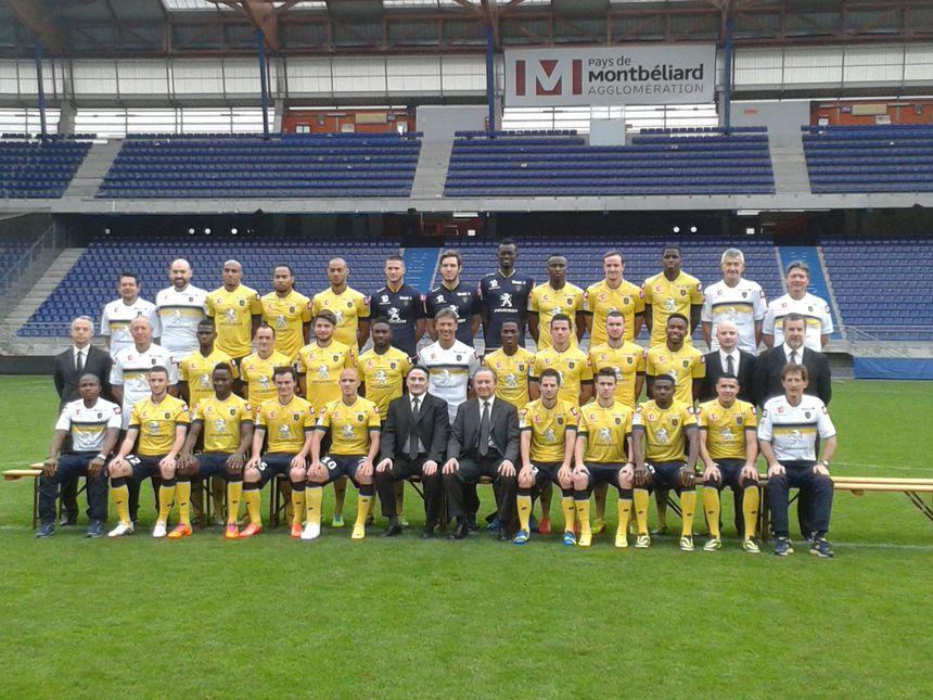 Photo officielle FC Sochaux Montbéliard saison 2013/2014