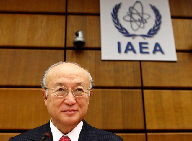 Yukiya Amano, le directeur général de l'AIEA, le 9 septembre 2013