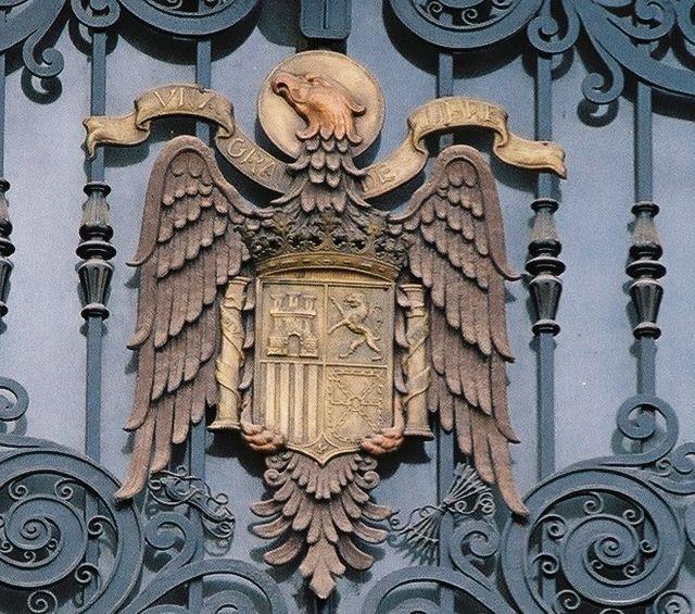 L'aigle, emblème du franquisme