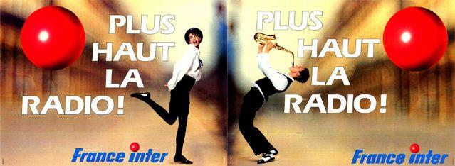 Pub 1989 - France Inter a 50ans