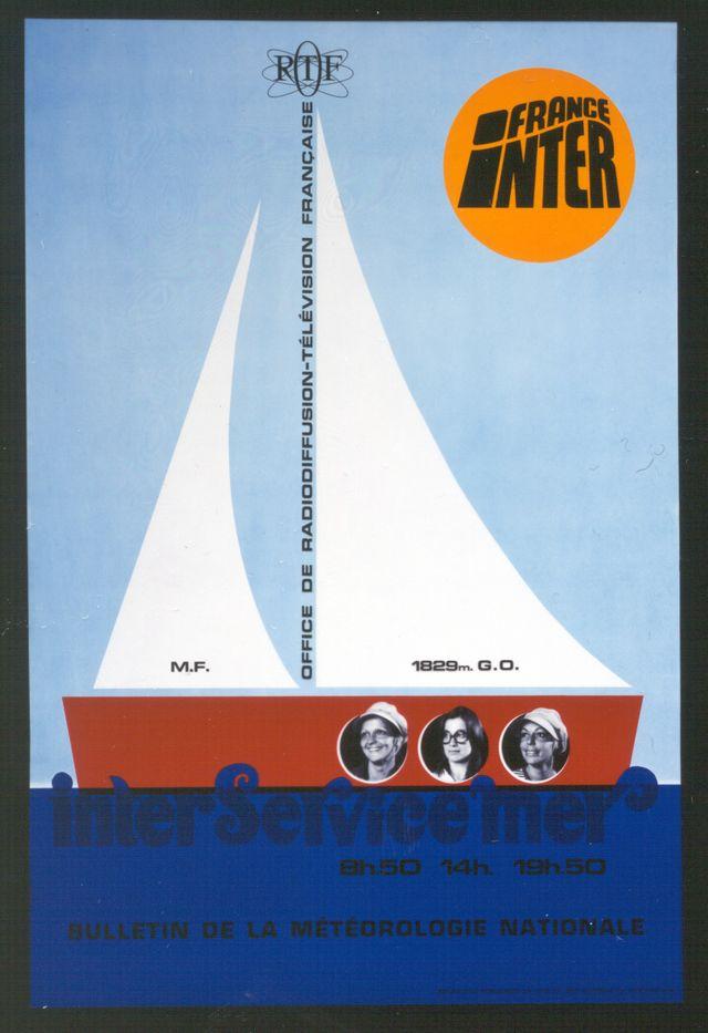 Inter Service Mer 1970 - France Inter a 50 ans