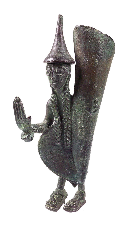 Statuette de chef - Musée national des Etrusques de la Villa Giulia