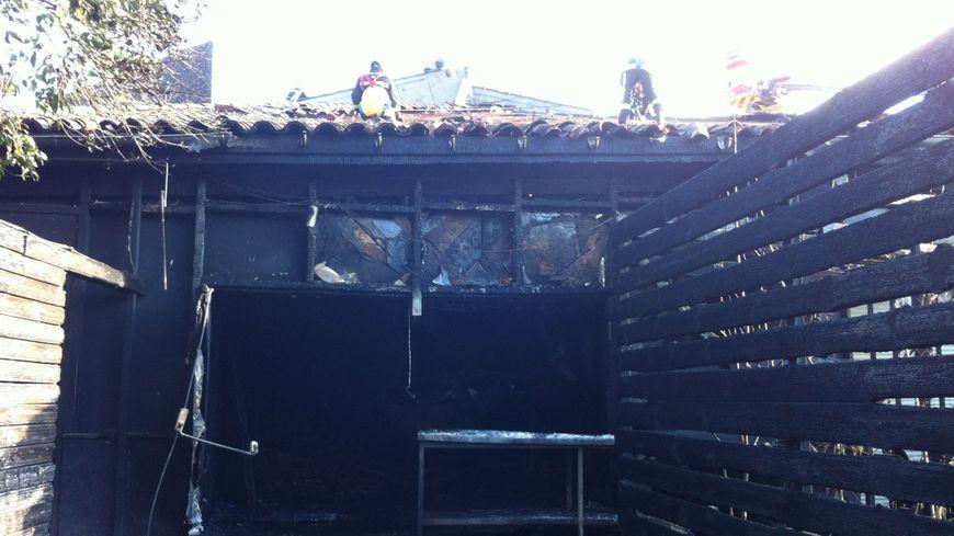La discothèque Studio one, victime d'un incendie ce dimanche.