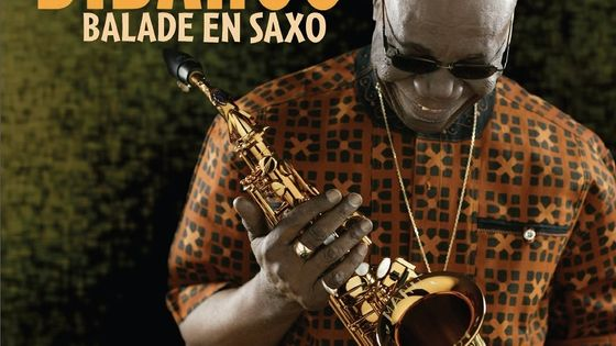 "Photo - Illustration livre ""Balade en saxo"" de Manu Dibango"